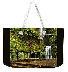 Multnomah Falls,oregon Weekender Tote Bag
