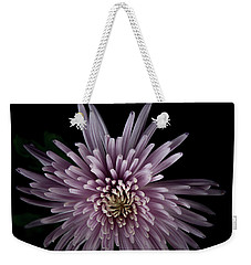 Weekender Tote Bag featuring the photograph Mum by Eric Christopher Jackson