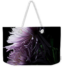Weekender Tote Bag featuring the photograph Mum, No.6 by Eric Christopher Jackson