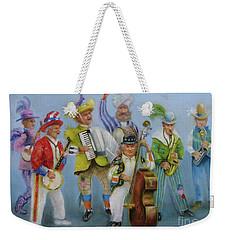 Mummers Jam Session Weekender Tote Bag