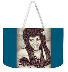 Mungo Jerry Portrait - Drawing Weekender Tote Bag