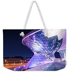 Munich Bmw Lines And Curves Weekender Tote Bag