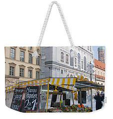 Munich Fruit Seller Weekender Tote Bag