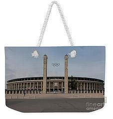 Berlin Olympic Stadium Weekender Tote Bag by Nichola Denny