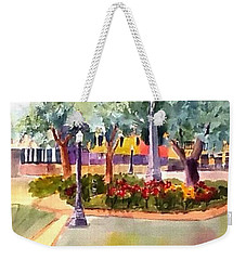 Munn Park, Lakeland, Fl Weekender Tote Bag by Larry Hamilton