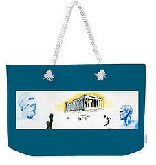 Mural Weekender Tote Bag