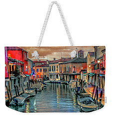 Murano Twilight Weekender Tote Bag