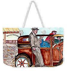 Murder On Hamilton Avenue, Red Hook, Brooklyn Weekender Tote Bag