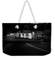 Murphy Chop House Sunrise In Black And White Weekender Tote Bag