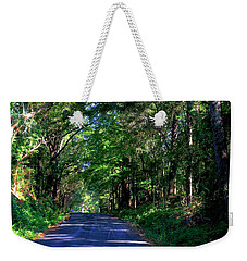 Weekender Tote Bag featuring the photograph Murphy Mill Road - 2 by Jerry Battle