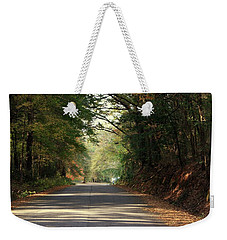 Weekender Tote Bag featuring the photograph Murphy Mill Road by Jerry Battle