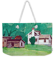 Murray Hill Watercolor Weekender Tote Bag