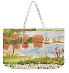 Muscle Shoals Singing Waters Weekender Tote Bag by Meryl Goudey