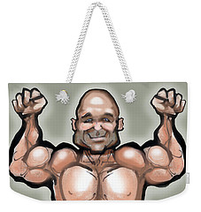 Muscles Weekender Tote Bag by Kevin Middleton