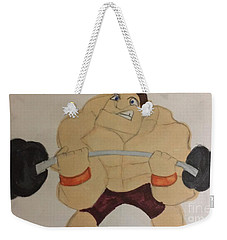 Muscular Man Weekender Tote Bag
