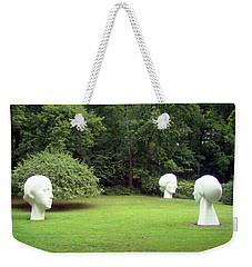 Weekender Tote Bag featuring the photograph Muses by Betsy Zimmerli