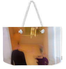 Weekender Tote Bag featuring the photograph Museum Day by Alex Lapidus