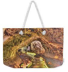 Mushpot Cave Weekender Tote Bag by Richard J Cassato