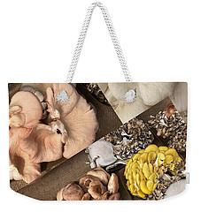 Mushroom Art Weekender Tote Bag