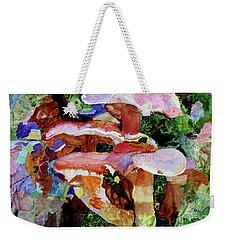 Mushroom Garden Weekender Tote Bag
