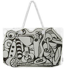 Mushroom Powered Engine 004 - Bellingham - Lewisham Weekender Tote Bag