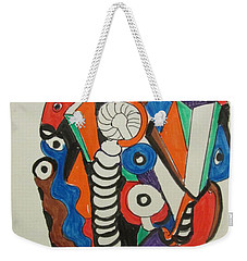 Mushroom Powered Engine 01 - Bellingham - Lewisham, Weekender Tote Bag