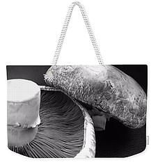Mushrooms In Black And White Weekender Tote Bag