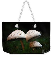 Mushrooms In The Morning Weekender Tote Bag by Robert Meanor