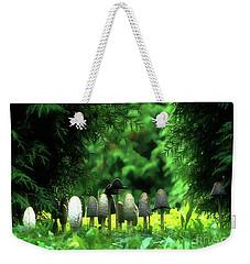 Mushrooms Under The Tree Weekender Tote Bag by Odon Czintos