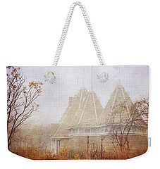 Weekender Tote Bag featuring the photograph Music And Fog by Heidi Hermes
