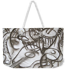 Music Dreams And Illusions Weekender Tote Bag