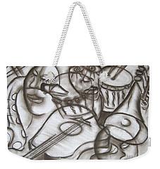 Music Dreams And Illusions Weekender Tote Bag
