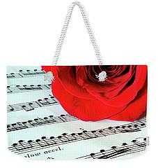 Music Lover  Weekender Tote Bag