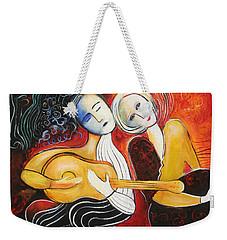 Music Lovers 2017 Weekender Tote Bag