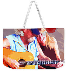 Music Lovers Weekender Tote Bag