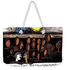 Music Man Cartoon Weekender Tote Bag