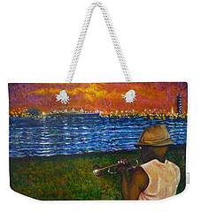 Music Man In The Lbc Weekender Tote Bag