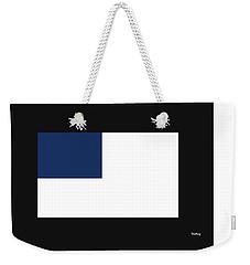 Weekender Tote Bag featuring the digital art Music Notes 14 by David Bridburg
