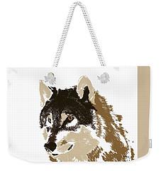 Weekender Tote Bag featuring the digital art Music Notes 21 by David Bridburg