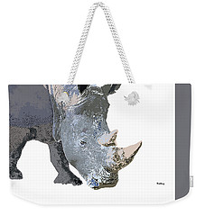 Weekender Tote Bag featuring the digital art Music Notes 24 by David Bridburg