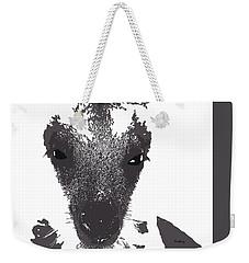 Weekender Tote Bag featuring the digital art Music Notes 28 by David Bridburg