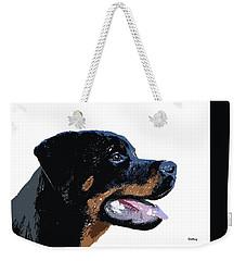 Weekender Tote Bag featuring the digital art Music Notes 33 by David Bridburg