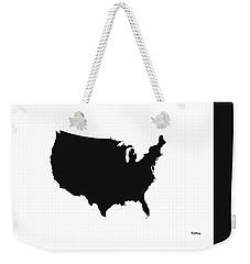 Weekender Tote Bag featuring the digital art Music Notes 4 by David Bridburg