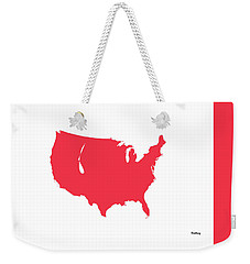 Weekender Tote Bag featuring the digital art Music Notes 5 by David Bridburg