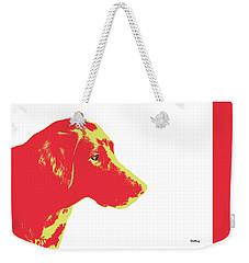 Weekender Tote Bag featuring the digital art Music Notes 6 by David Bridburg
