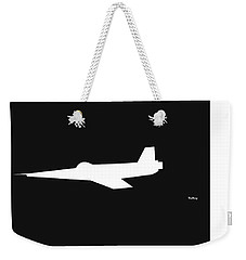 Weekender Tote Bag featuring the digital art Music Notes 8 by David Bridburg