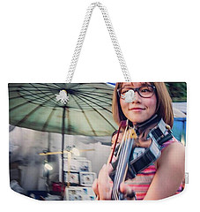 Music On The Streets, Chiang Mai Weekender Tote Bag