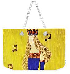 Music Princess Weekender Tote Bag