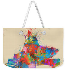 Music Strikes Fire From The Heart Weekender Tote Bag