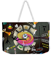 Music Therapy Weekender Tote Bag